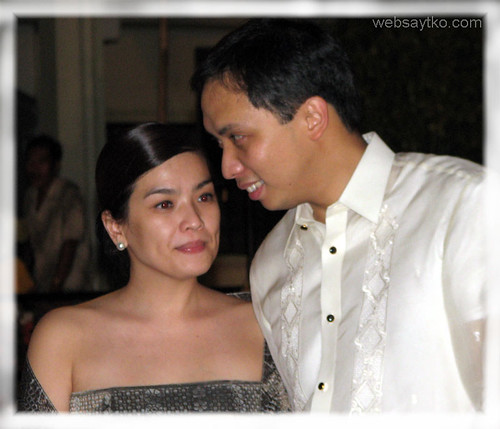 Junjun Ynares with his lovely wife Andrea