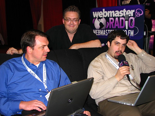 Search Pulse Live at WebmasterRadio SES Chicago Booth with Barry, Chris and Darron