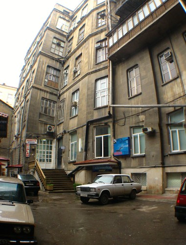 Buildings in Baku, Azerbaijan
