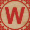 Block Letter W