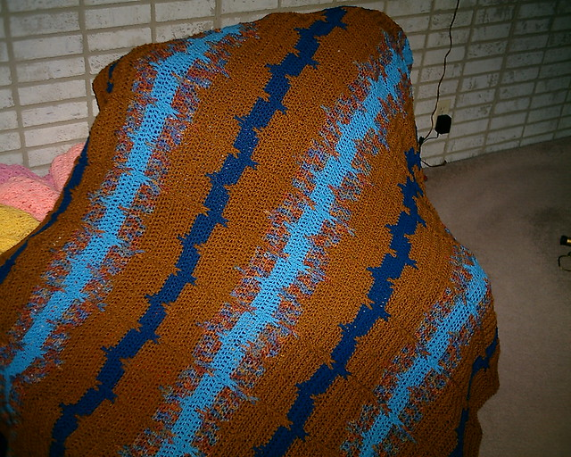 The Crochet Cabana Blog: Jacob's Ladder
