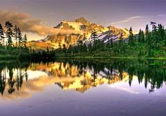 Mt. Shucksan in the North Cascades photo by Andrew E. Larsen