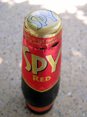 Spy Wine Cooler: Red