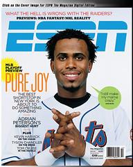 Jose Reyes en la portada de ESPN