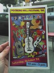 potrero hill festival flyer