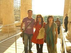 Con Constanza y Tamara
