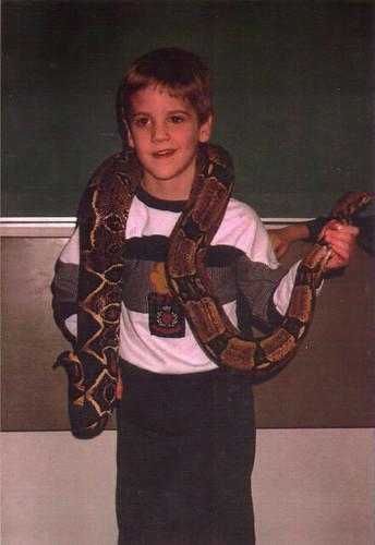 jacob w/snake