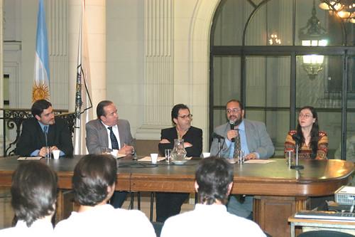 Evento 'El Derecho a la Información y las Nuevas Tecnologías en la Comunicación Política', Legislatura de la Ciudad de Buenos Aires