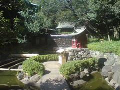 temple water garden