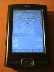 Google Maps on a Palm TX