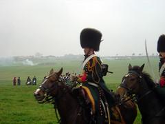Französische Kavalleristen
