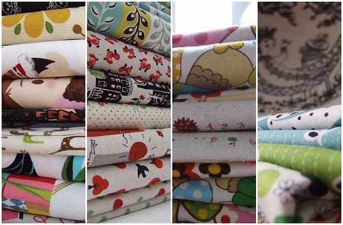 East meets West - Fabric stash