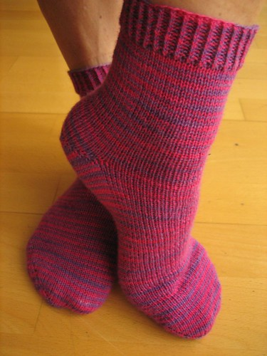 My socks. I love Lorna's Laces.