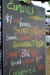 Edmundi Smokehouse Chalkboard
