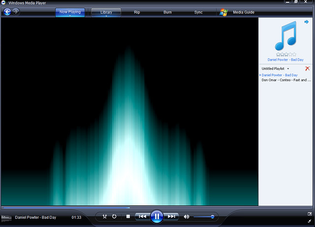 Thumb Windows Media Player 11