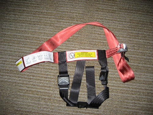Unboxing: CARES kid's plane harness