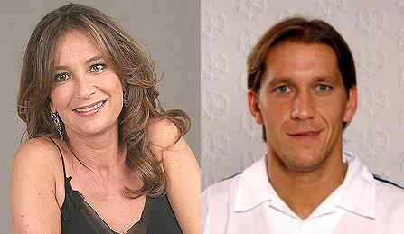 Parecido razonable entre Patricia Gaztañaga y Michel Salgado