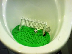 Urinal Soccer photo by atomicShed