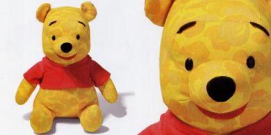 BAPE×Disney Winnie The Pooh Doll