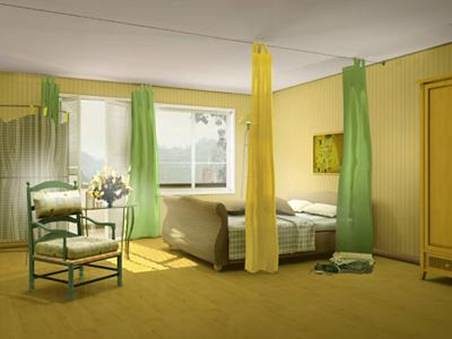 Bedroom Interior Design Fullcolor Idea