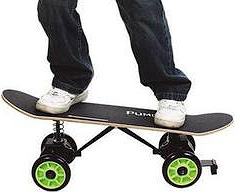 For the lazy skaters