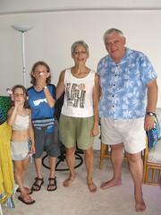 Anna, Caleb, Kathryn and Jean-Paul