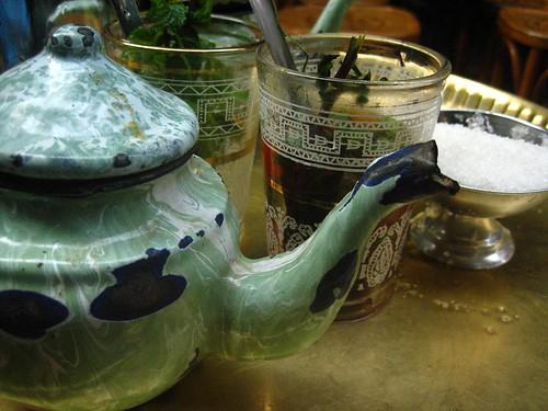 Mint Tea at El Fishawy