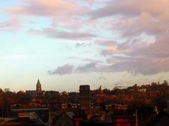 Nottingham desde el Crowne Plaza