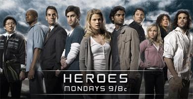 Heroes, los lunes... en la NBC