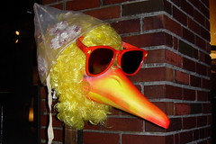 big bird, decapitated