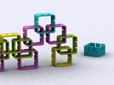 Puzzle (Maze) shelving2