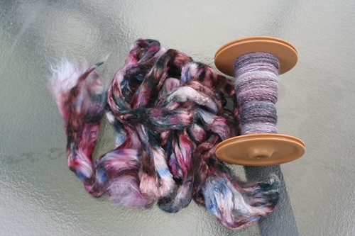 bamboo roving and spinning