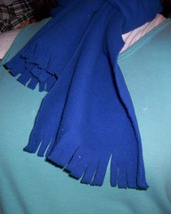 fleece scarf 2