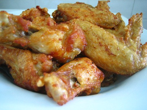 Garlic Chicken Wings + Recipe