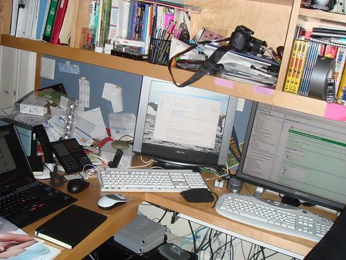 My Desk @ 11/19/2006