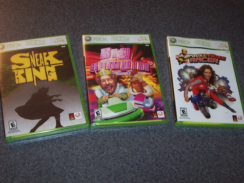 Picked up the Burger King XBOX 360 games
