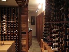 wine cellar, hallway