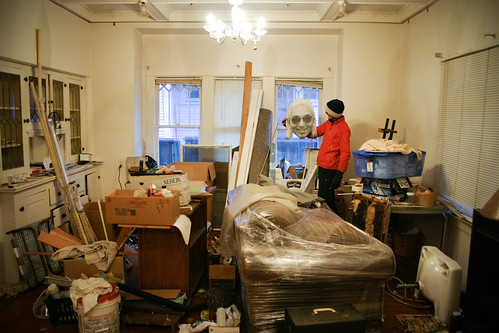 new studio, pre-cleanup
