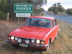 Parkes ... sister of Triumphs!
