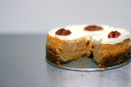 bourbon pumpkin cheesecake | smitten kitchen
