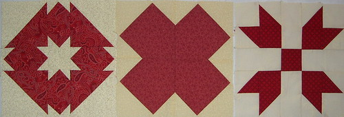 red sampler blocks