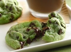 Mint Chocolate Chip Cookies Recipe photo by Betty Crocker Recipes