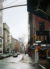 Sullivan Street, New York City, March 2001. photo by Jim Linwood