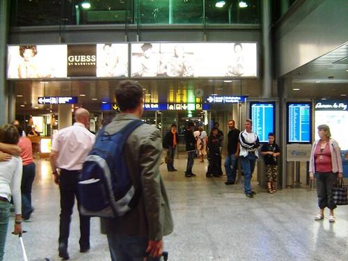 Helsinki AirPort Exit