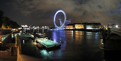 London at Night, Panorama 2 photo by Ian Muttoo