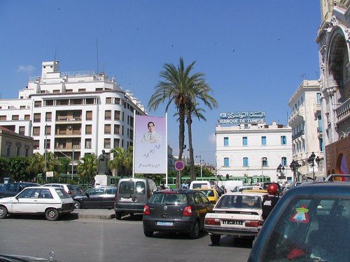 City view in Tunis