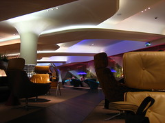 Virgin lounge, Heathrow