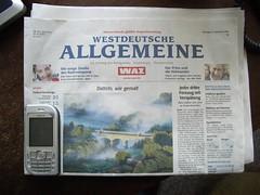 Was haben die Westdeutsche Allgemeine Zeitung (WAZ) und ein Handy-Vertrag gemeinsam?