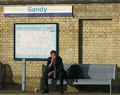 Another contented commuter. I love this photograph. It captures the resignation to our plight.