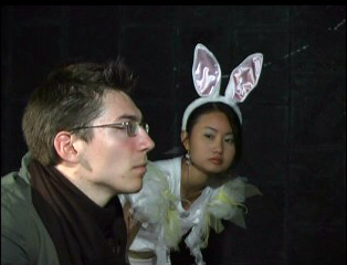 Production Photo 11- The Rabbit Sees Poor Wiler